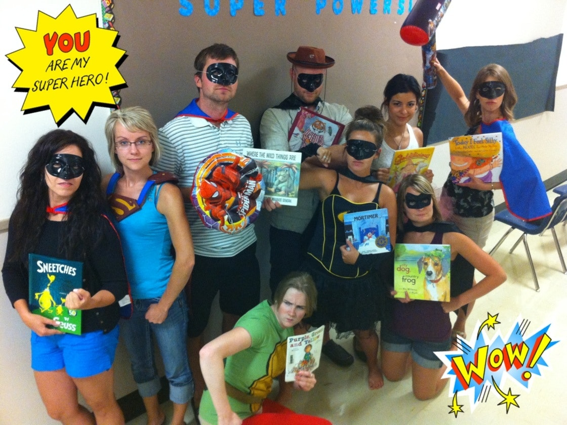 St. Mary School loves to read!