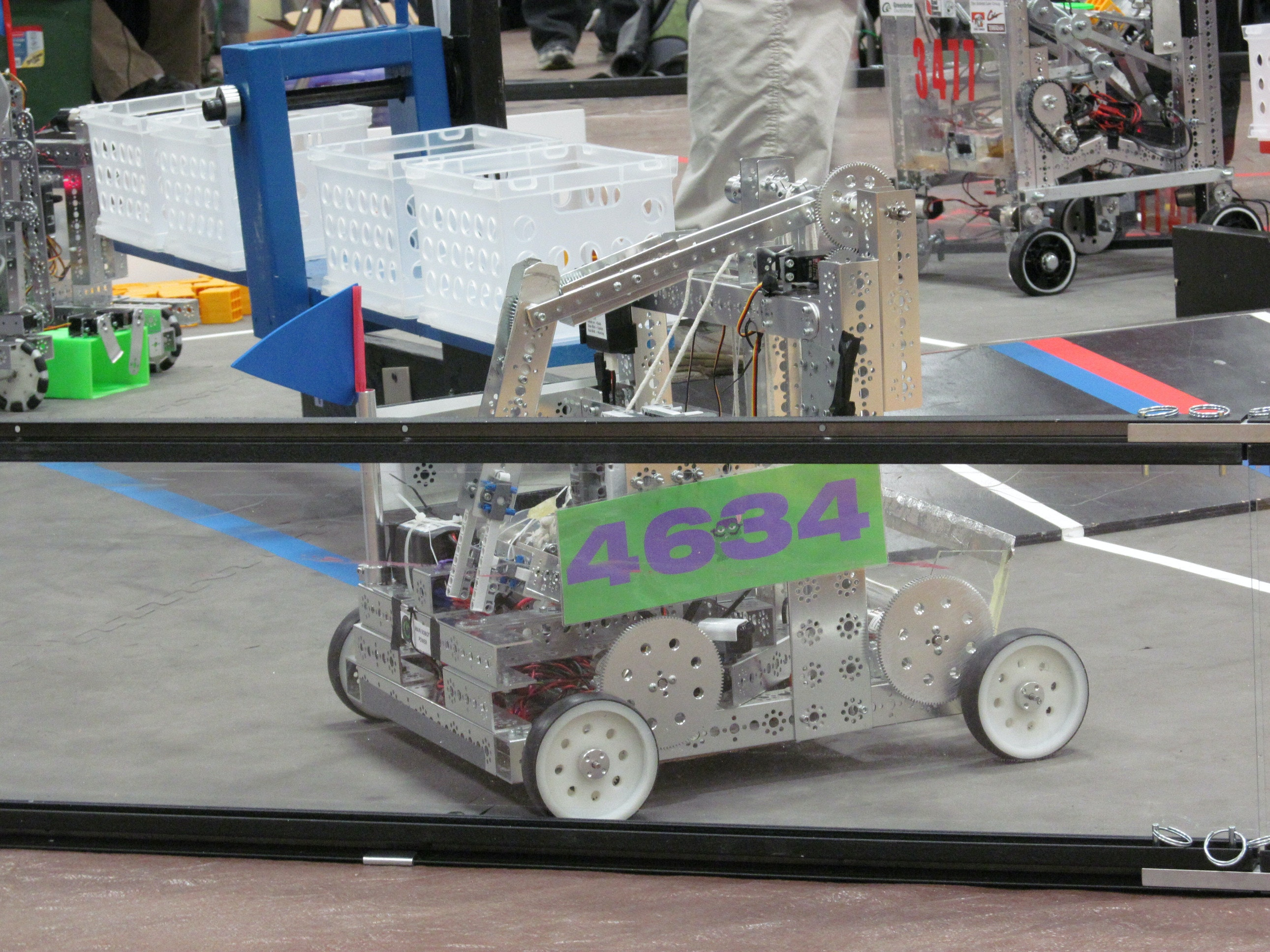 Help FROGBots compete in the robotics competition!