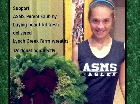 ASMS Parents Club Wreath fund raiser