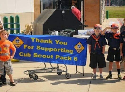 old charities & non-profits fundraising - St. Mary's Cub Scout Pack 6