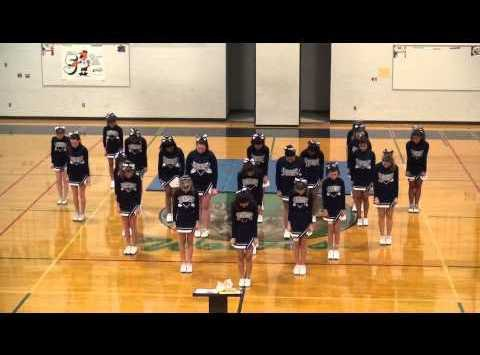 Cedar Heights Cheerleading Team