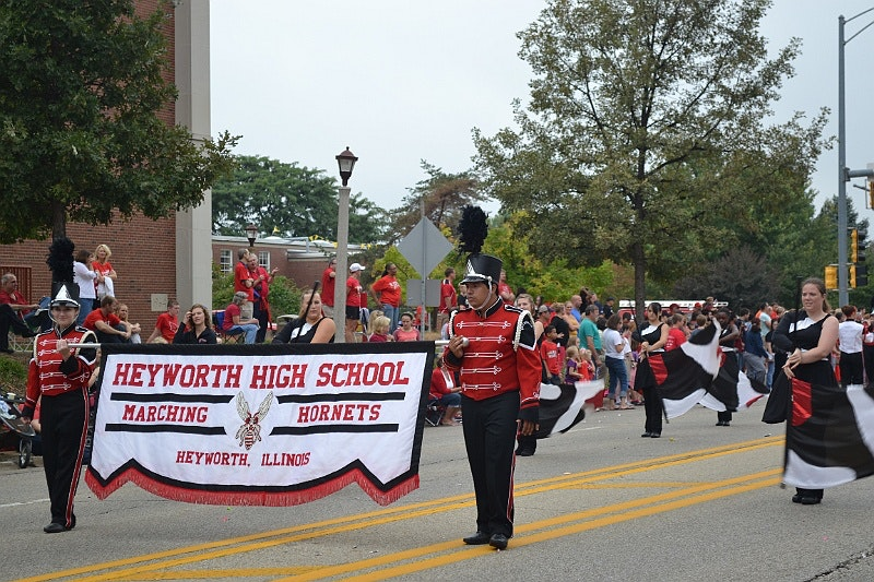 Heyworth High School Marching Hornet Band