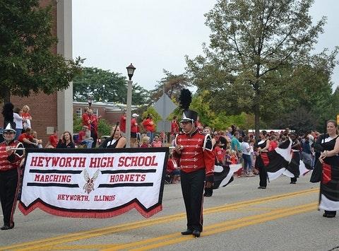 Heyworth High School Marching Hornet Band