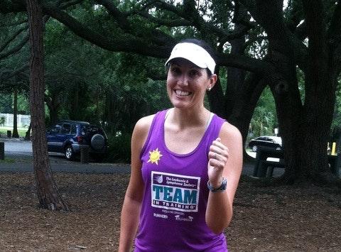 Megan's Team In Training Fundraiser