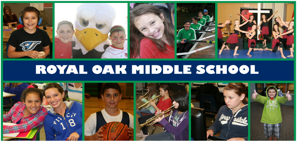 Royal Oak Middle School loves to read!