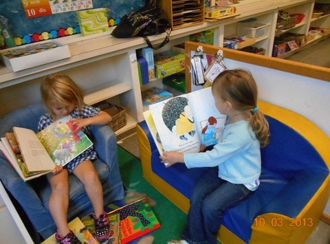 The Whitney Child Centre loves to read!