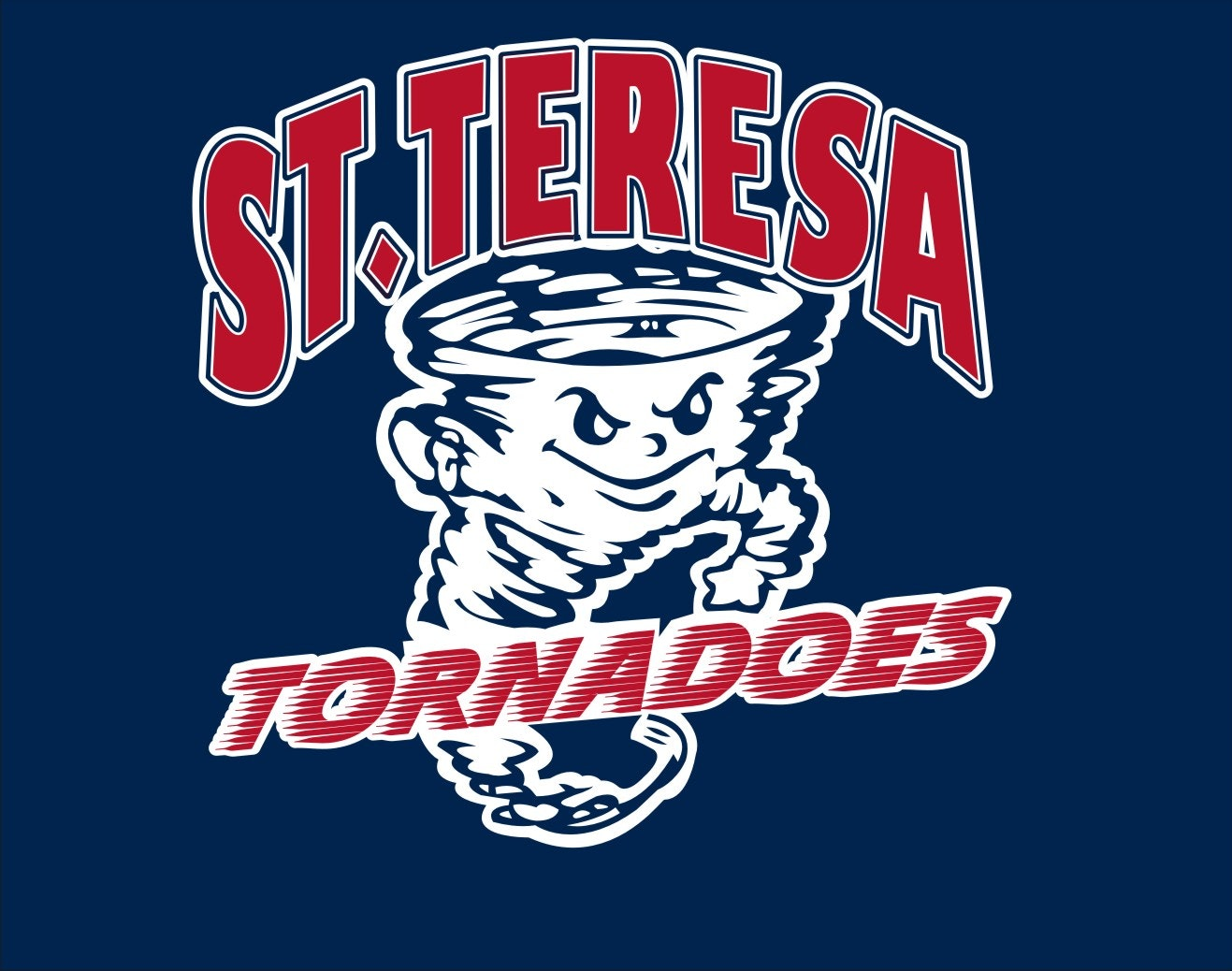 St. Teresa Tornadoes love to read!
