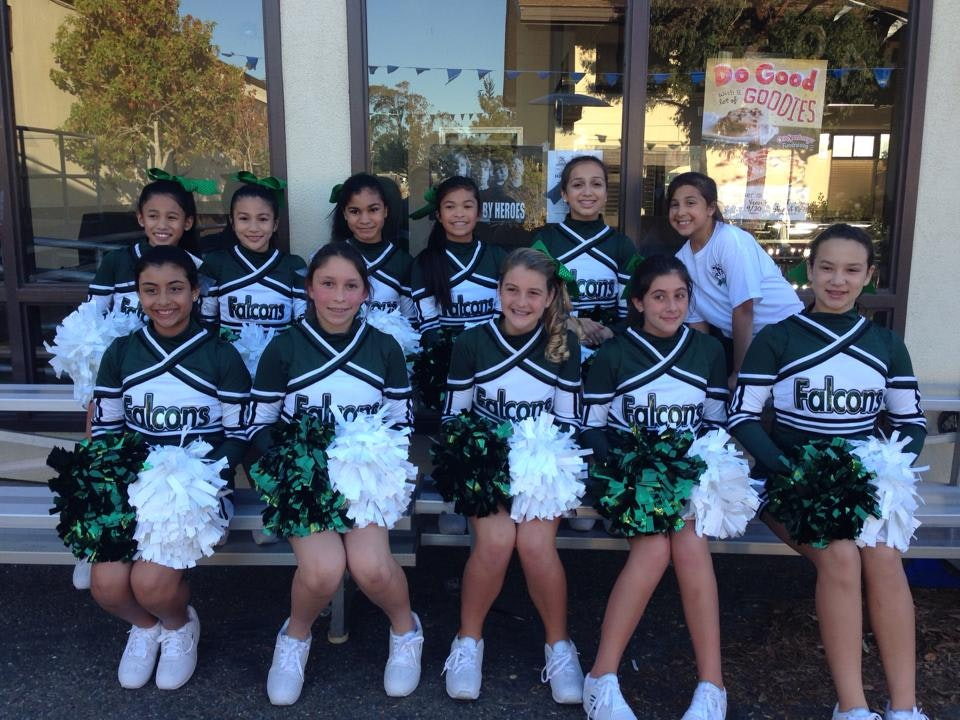 St. Veronicas Cheerleading!
