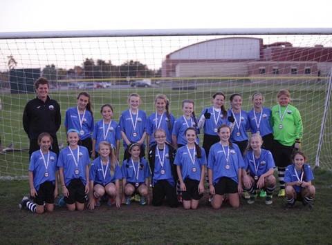 Coastal FC Girls U12 Impact
