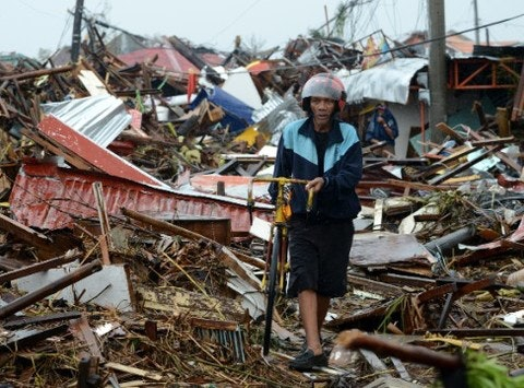 disaster relief fundraising - Support the American Red Cross + Super Typhoon Haiyan Fund