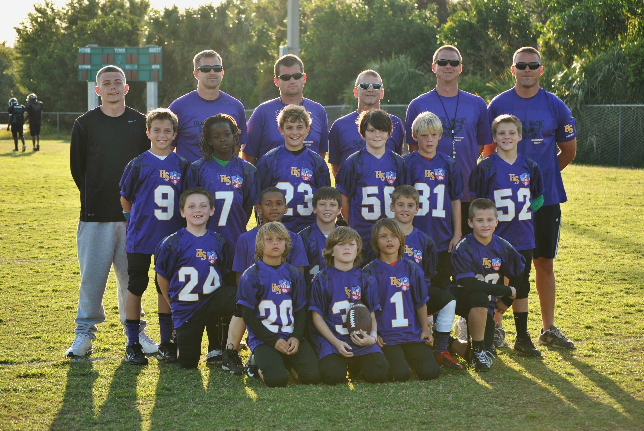 Hobe Sound Ravens Spring Football