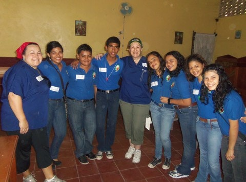 Honduran Mission Team NH
