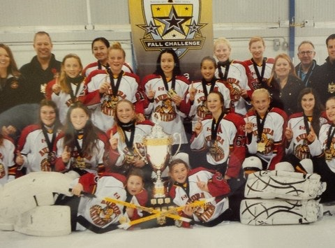Aurora Panthers Girls Bantam A Hockey Team 2014-15