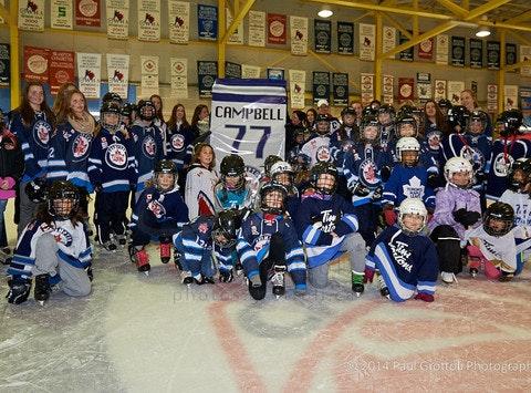 Canadettes Girls Peewee AA Hockey Team 2014-15