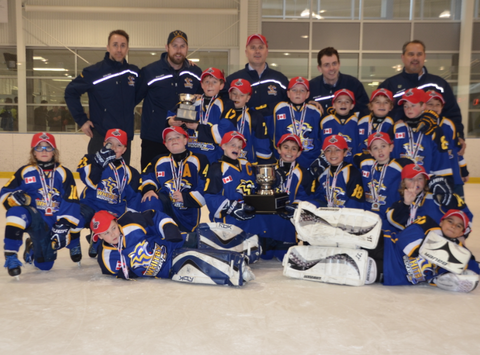 ice hockey fundraising - Whitby Wildcats - Minor Atom AE fundraiser