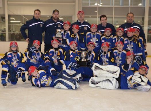 ice hockey fundraising - Whitby Wildcats - Minor Atom AE fundraiser