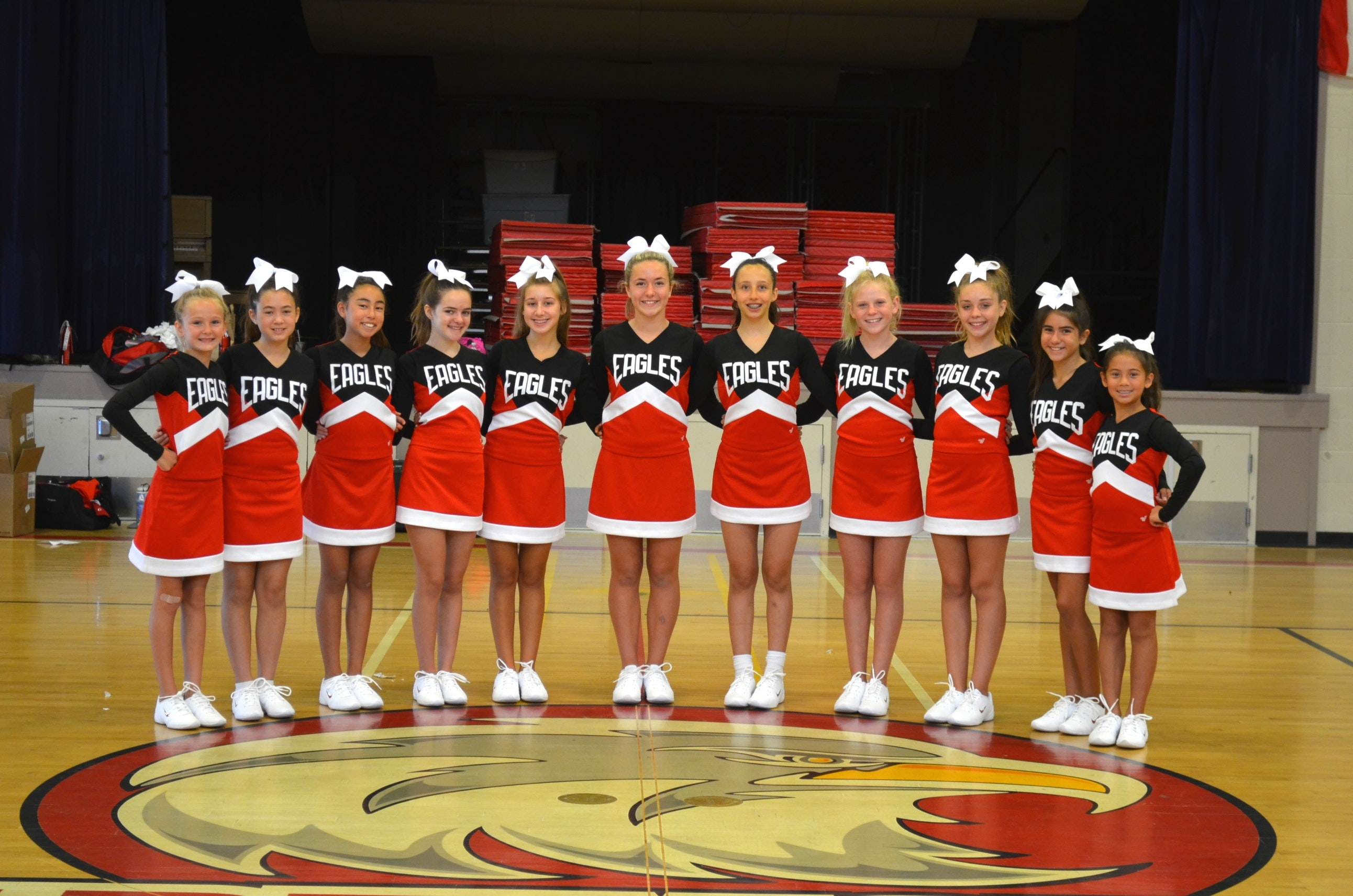 Dartmouth Middle School Cheerleading