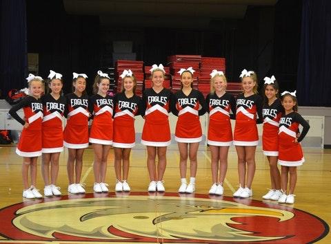 Dartmouth Middle School Cheerleading