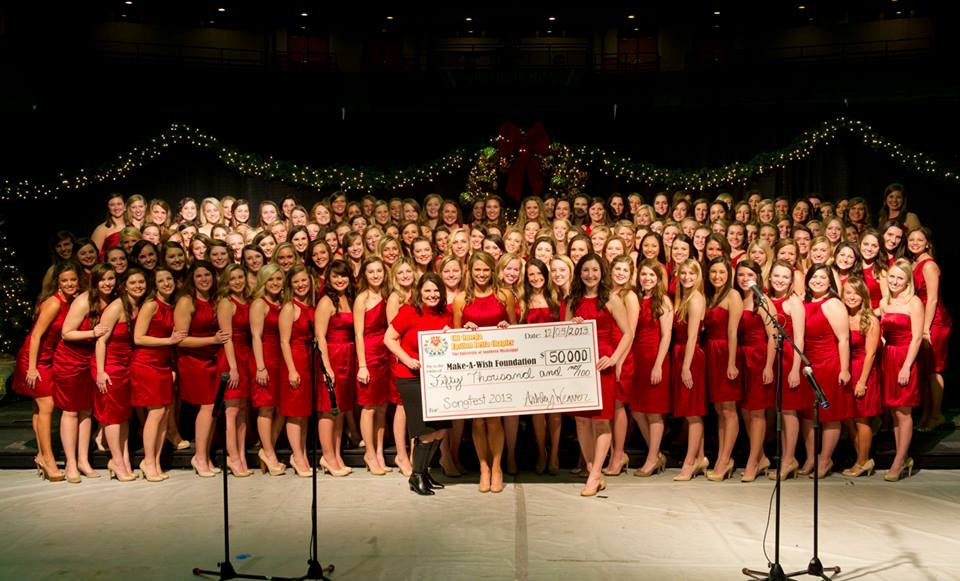 Chi Omega's 63rd Annual Songfest benefiting the Make-A-Wish Foundation