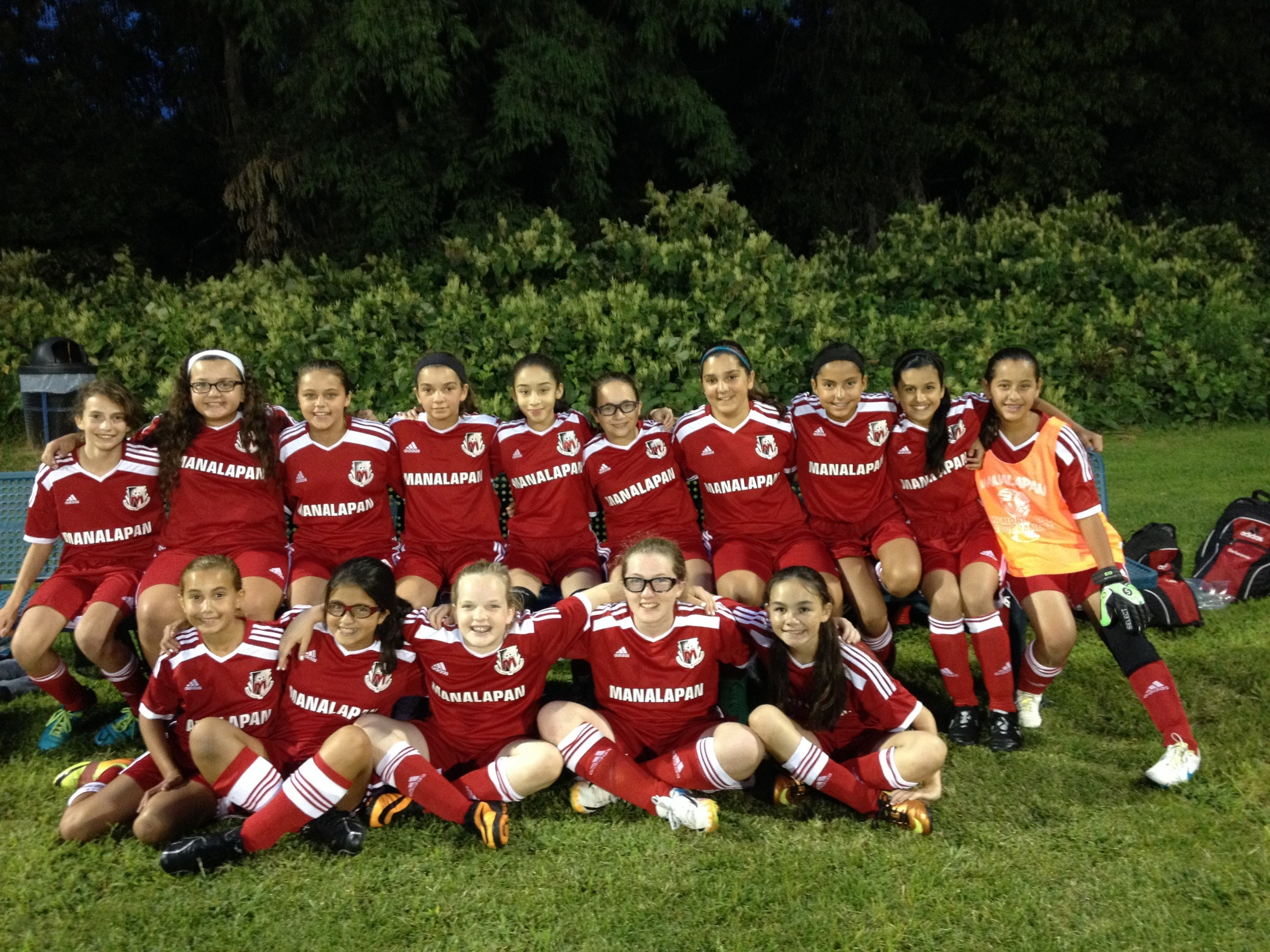 Manalapan Fire U13 Girls Soccer Team