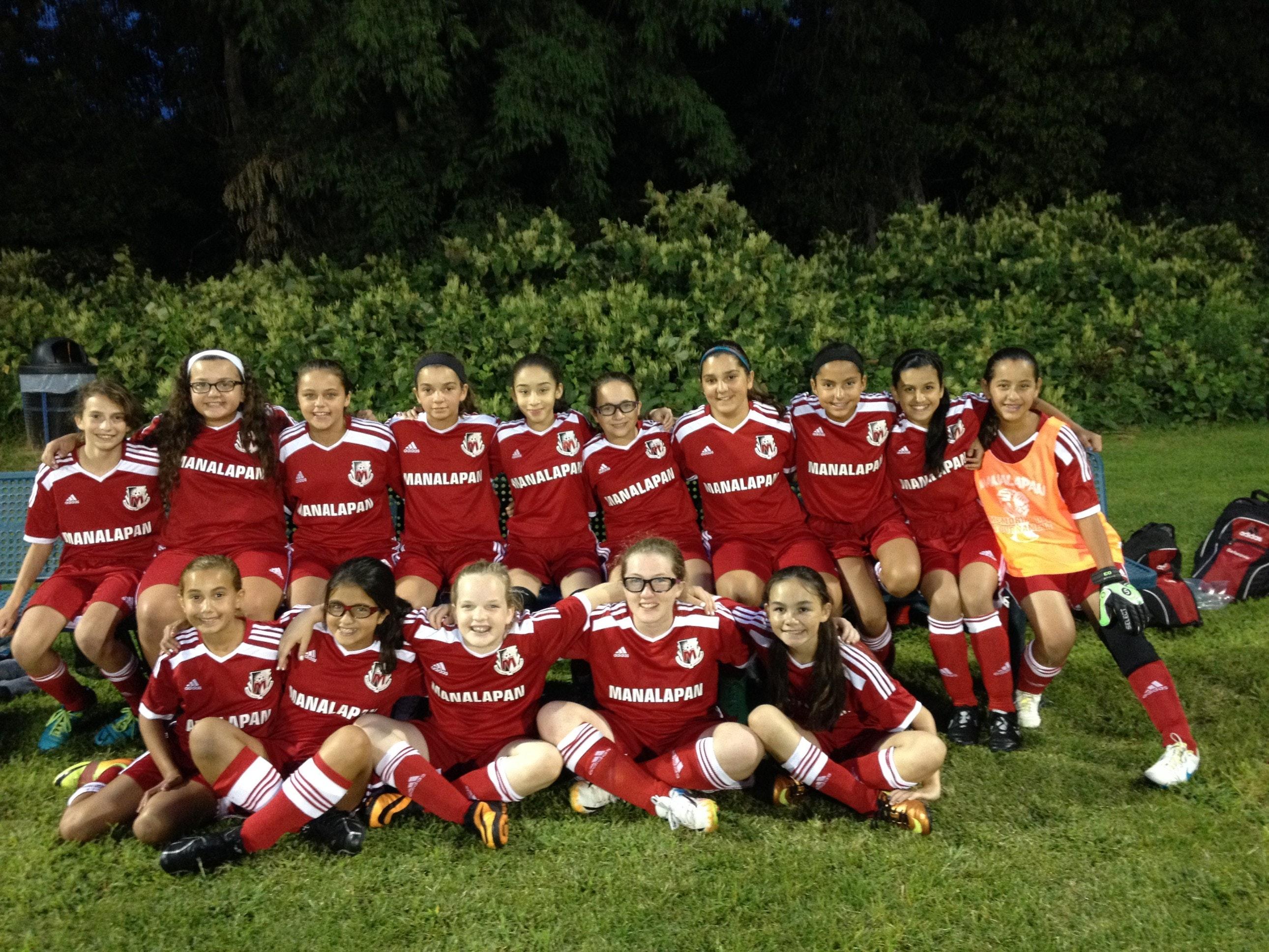 Manalapan Fire U13 Girls Soccer Team