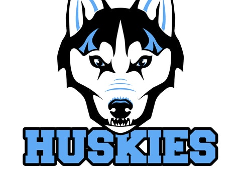 NO CO HUSKIES PLAY BALL