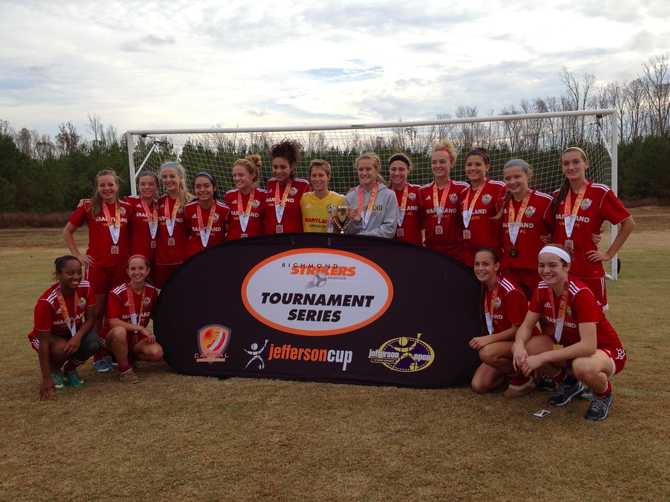 MD United 97G Red Tournament Fundraiser