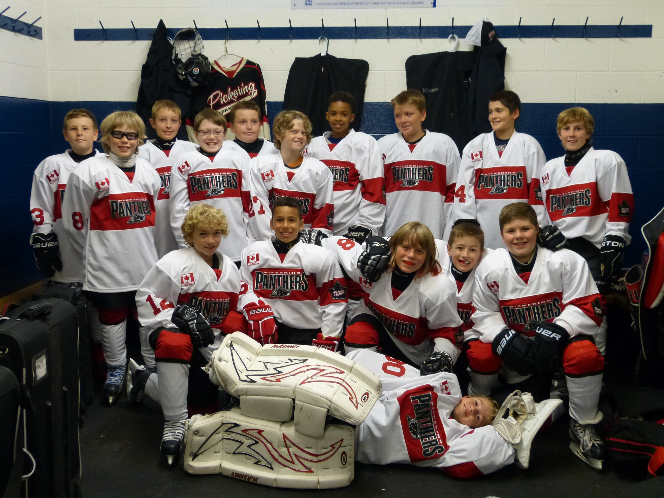 Pickering Panthers Minor Peewee A Fundraising