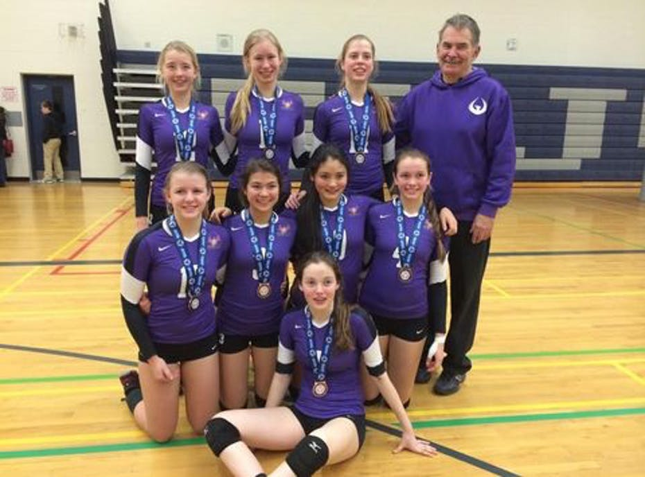 Phoenix 99 Flare Volleyball Team
