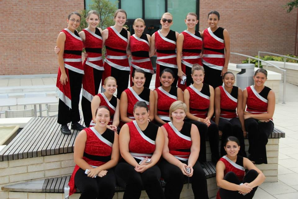 Sacred Heart University Winterguard