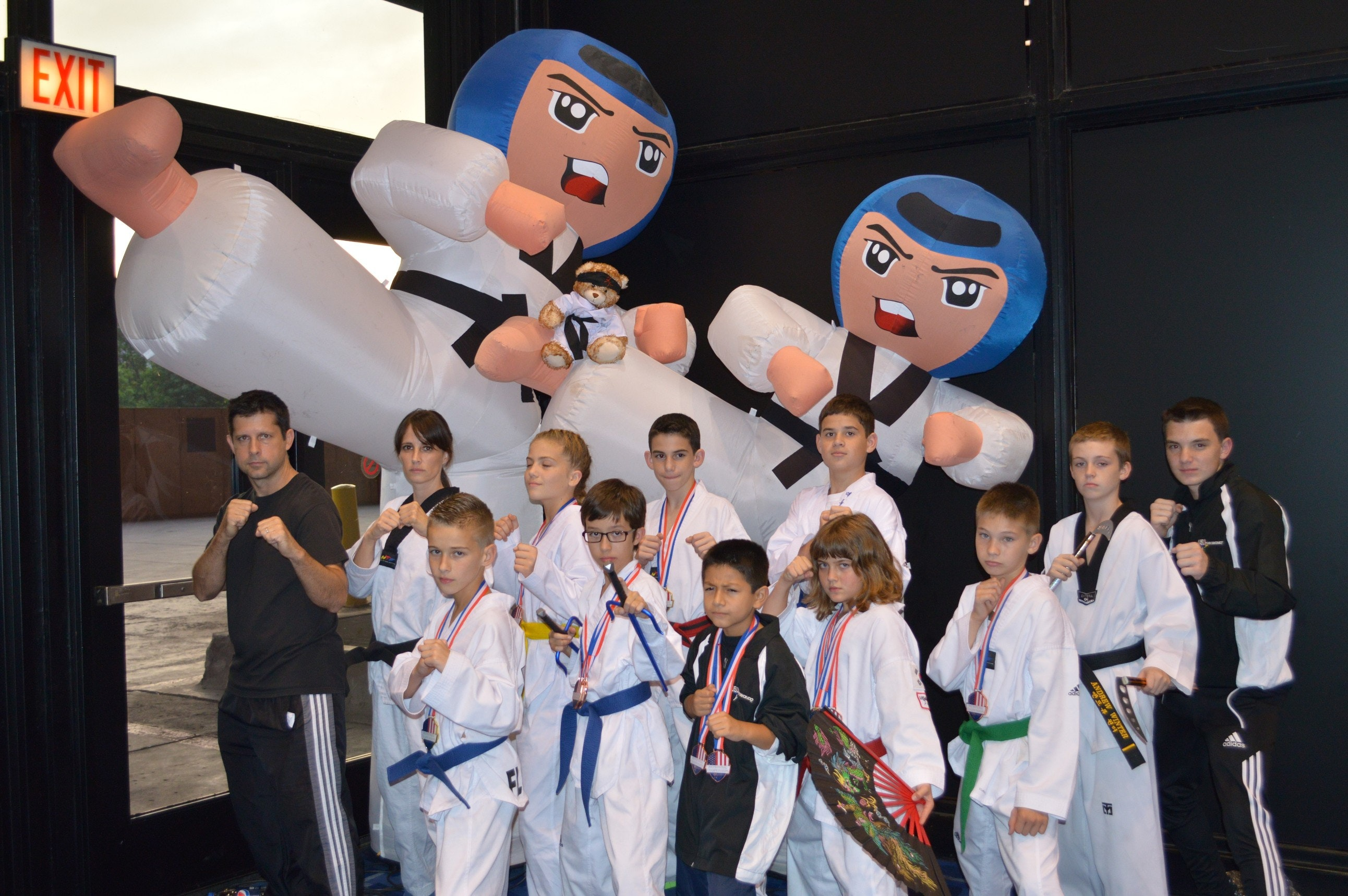 Adventure Martial Arts Tournament Team Fundraising
