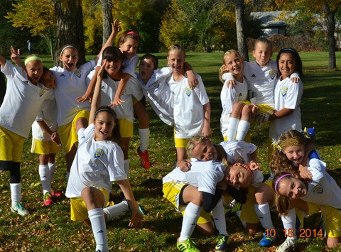 Colorado Storm North 04 Girls White
