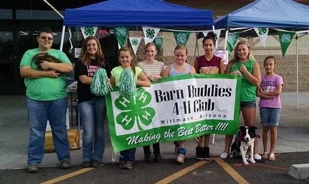 Funds for Barn Buddies 4-H