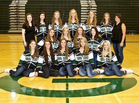 Gretna HS Dance Team