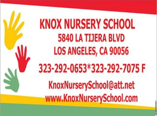 Knox Nursery School Holiday Fundraiser