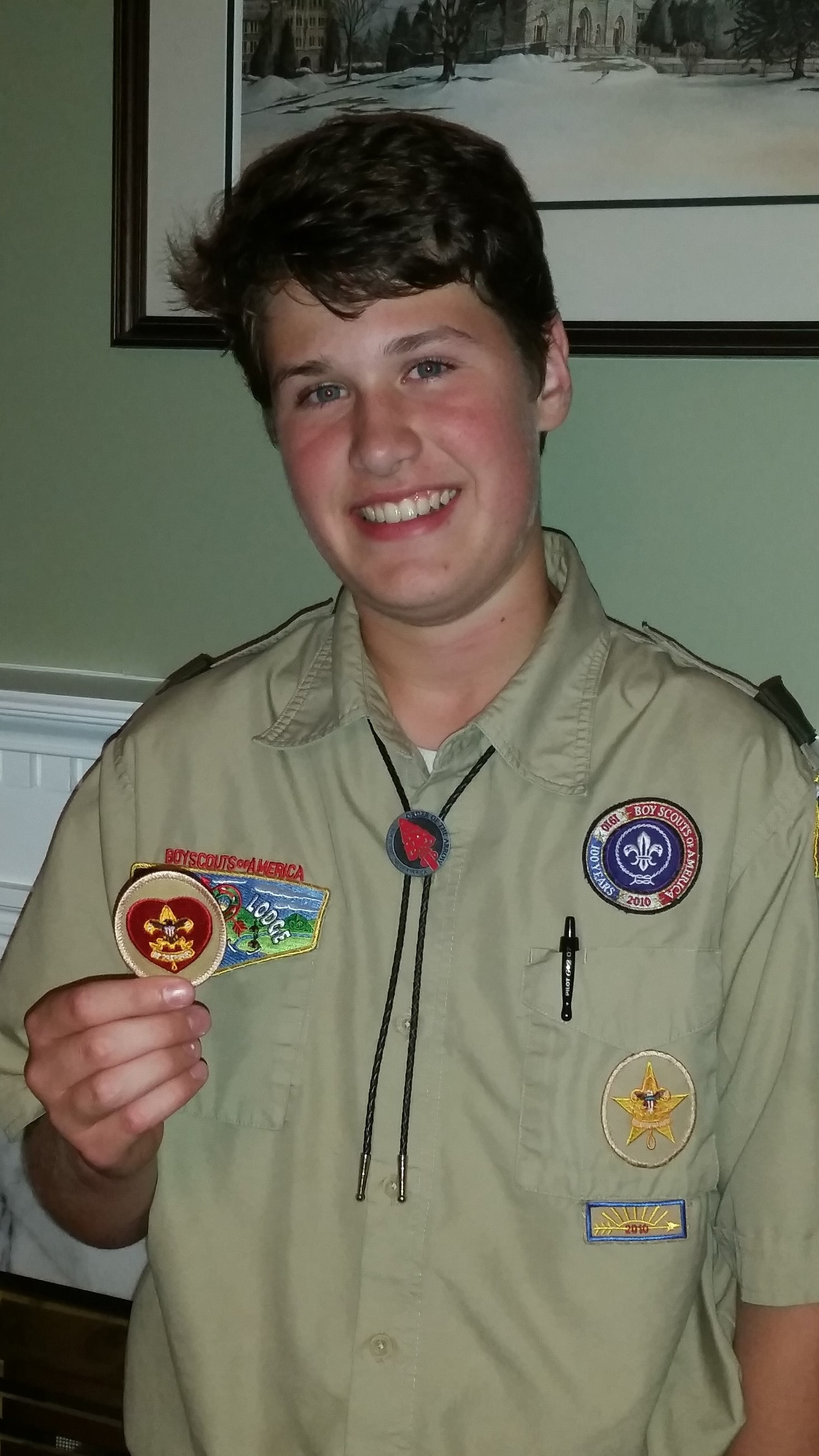 Timothy's Scout Account Challenge 2015