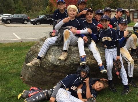 baseball fundraising - BPR Lightning Cooperstown 2015