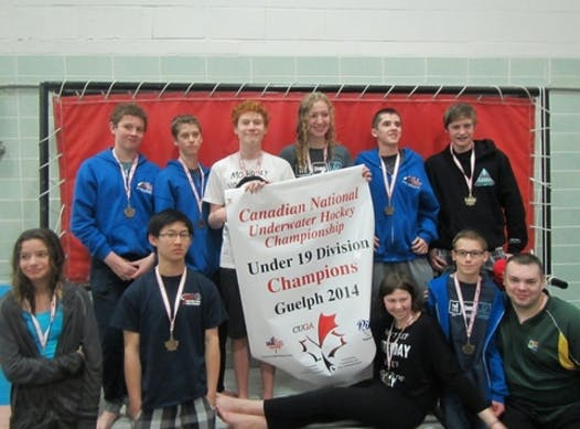 sports teams, athletes & associations fundraising - U19 Underwater Hockey National Team