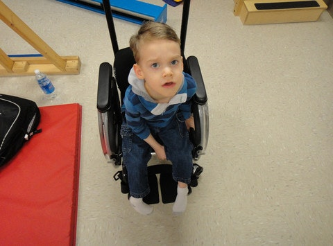 Help my disabled son walk!