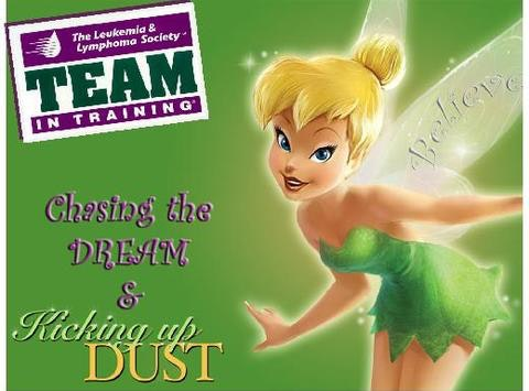 Team In Training-Tinkerbell Half Marathon/Pixie Dust Challenge