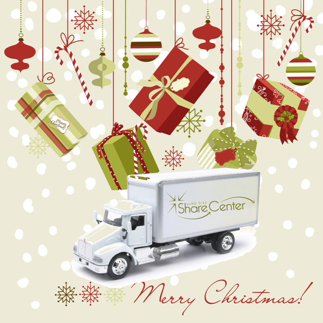 All Luke 3:11 Wants for Christmas is a Box Truck!
