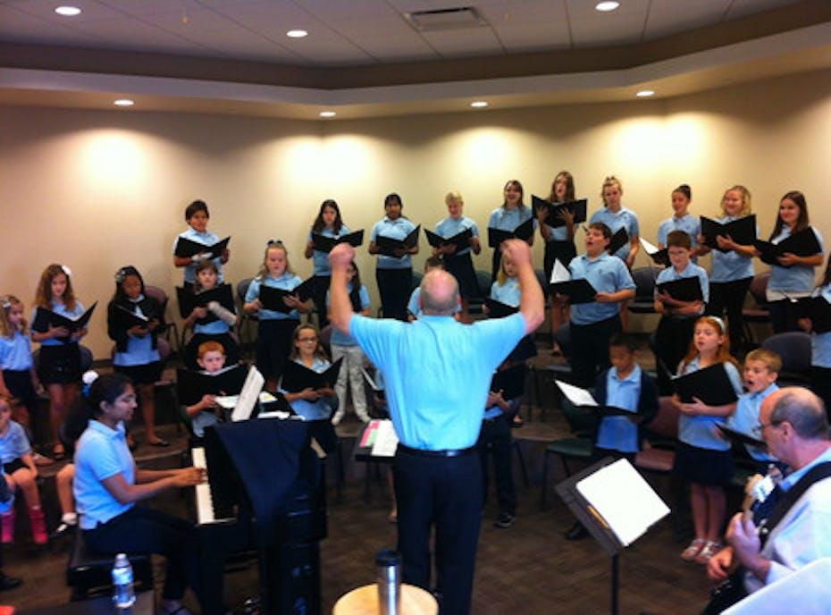 St Bernards Pueri Cantores Choir