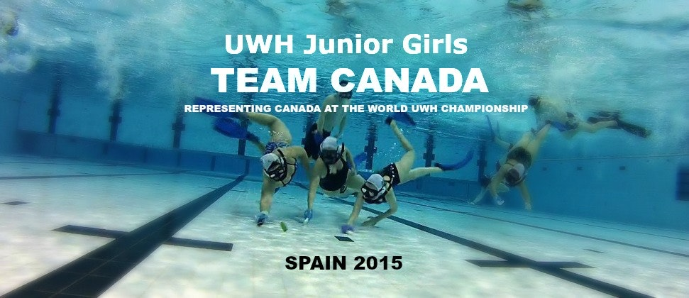 TEAM Canada Underwater Hockey U-19 Girls