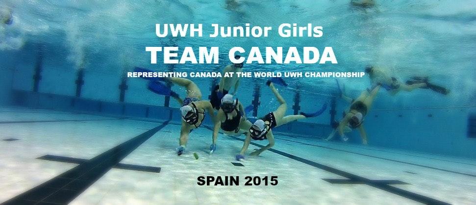 TEAM Canada Underwater Hockey U-19 Girls