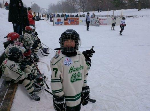 ice hockey fundraising - Go Sharks! 05, oh yeah!