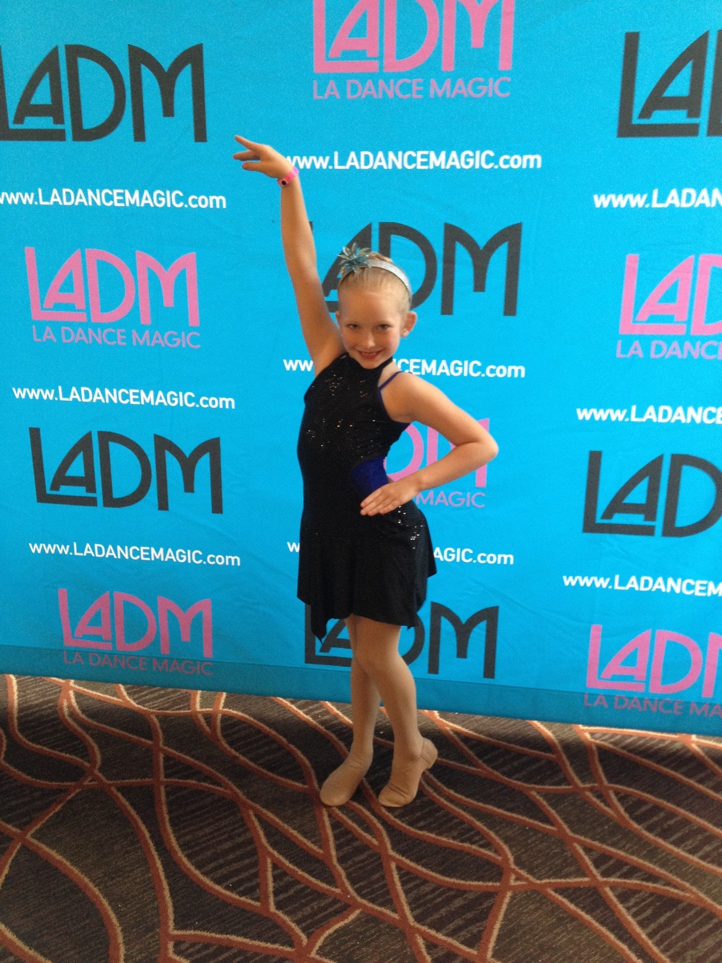 Encore Dancers- Dance Excellence travel for Emma Homan