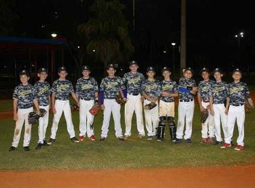 baseball fundraising - Ft. Lauderdale Lightning Cooperstown 2015