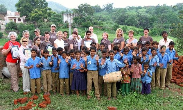 Volunteer trip to India