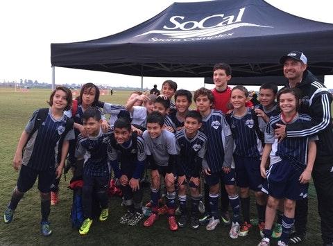 soccer fundraising - USA Soccer Stars Barcelona Trip