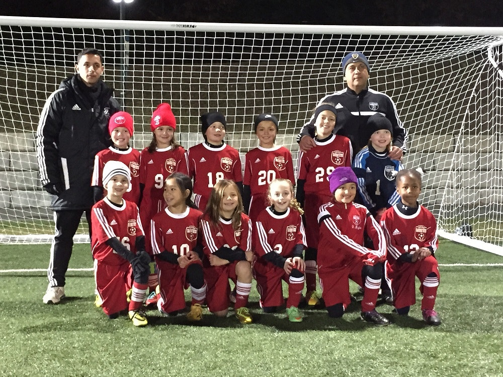 Clarkstown Girls U8 White Soccer Team